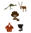 Cartoon funny animals vector image vector image