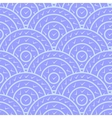 Circle With Tick Shape Seamless Pattern vector image vector image