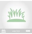 Grass icon vector image vector image
