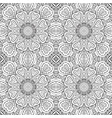 mandala doodle drawing seamless ornament ethnic vector image vector image