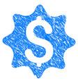 money award grunge icon vector image vector image