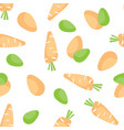 Seamless easter background tile holiday pattern