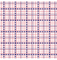 Seamless mesh pattern in blue and red vector image