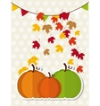 thanksgiving fruits vector image