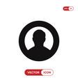 user icon vector image vector image