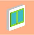 window computer symbol vector image vector image