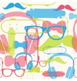 seamless bright hipster pattern vector image