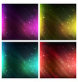 Abstract space background background set