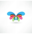Butterfly Icon vector image vector image