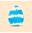 Easter egg Painted Easter Holiday vector image