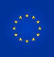 flag eu european union symbol europe stars vector image vector image