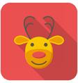 Reindeer icon vector image vector image