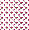 rose flower Pattern vector image vector image