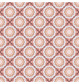 seamless hand drawn mandala pattern for printing vector image vector image