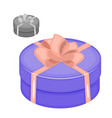 set of icons of gift boxes gift box icon vector image
