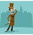 Vintage Great Britain Victorian Gentleman vector image vector image