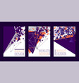 abstract booklet design poster banner card vector image vector image