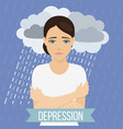 emotional health concept vector image vector image