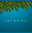 festive christmas or new year background vector image vector image