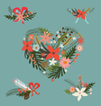 Festive floral compositions vector image vector image