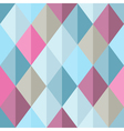 Geometrical seamless pattern with bright pink and vector image vector image