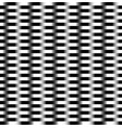 pattern with alternating bars rectangles vector image