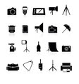 photo collection of icons vector image vector image