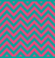 pink turquoise chevron retro decorative pattern vector image
