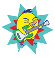 Rock and Roll Bird vector image