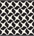 seamless geometric pattern - monochrome vector image