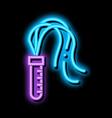 sex whip bdsm neon glow icon