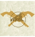 Sheriffs badge-5 vector image vector image