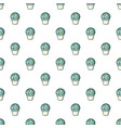 astrophytum cactus pattern seamless vector image