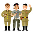 communist group flat style colorful vector image vector image