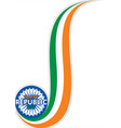 creative independence day india banner design vector image
