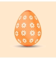 Easter egg Painted Easter Holiday vector image vector image
