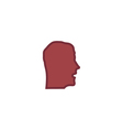 Face Icon vector image vector image