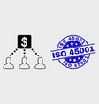 Linear financial clients links icon and
