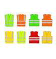signal vest vector image