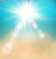 Soft colored abstract summer light background for vector image