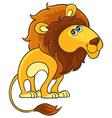 Lion Cartoon african wild animal character vector image