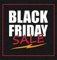 banner black friday sale image vector image vector image