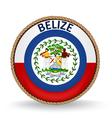 Belize Seal vector image vector image