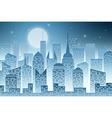 Cityscape with Skyscraper vector image vector image