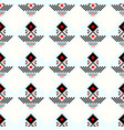 geometric traditional scandinavian ornament vector image