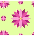 Seamless texture with purple flowers vector image
