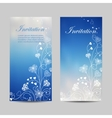 Set of vertical banners vector image