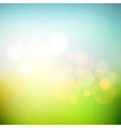 Soft colored abstract summer light background for vector image vector image