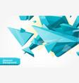 polygonal geometrcial background vector image