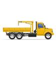 cargo truck 23 vector image vector image